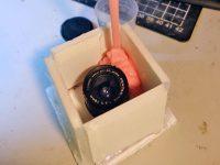Pentax 18mm lens molding