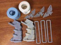 3D Printed Warhammer 40K Bolter parts