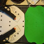 Double Glock back holster template test