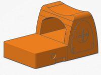 3D printed RMR gun sight