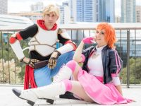 Jaune Arc and Nora RWBY Cosplay at RTX