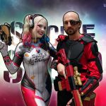 Infamous Harley Quinn and I at Sydney Supanova