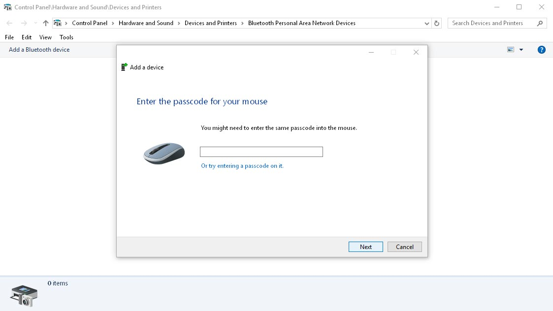 Pairing Bluetooth Mouse Asks for PIN – SOLUTION! – cybermike