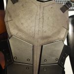 Gluing Deadshot body armour