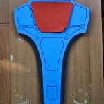 Deadshot armour - back
