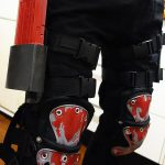 Deadshot armor - knee pads