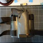 Gun holster almost complete