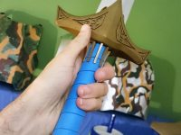 3D printed Jaune Arc sword